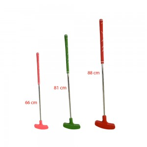 MAZZA GOLF PUTTER CON TESTA IN GOMMA