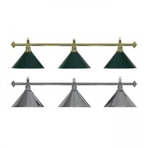 Lampadario biliardo a 3 campane