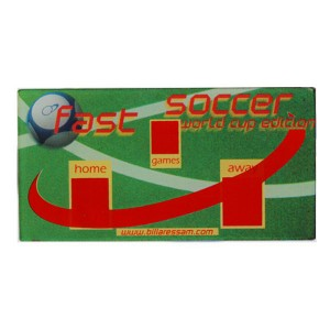 Plexy Soccer per air Hockey