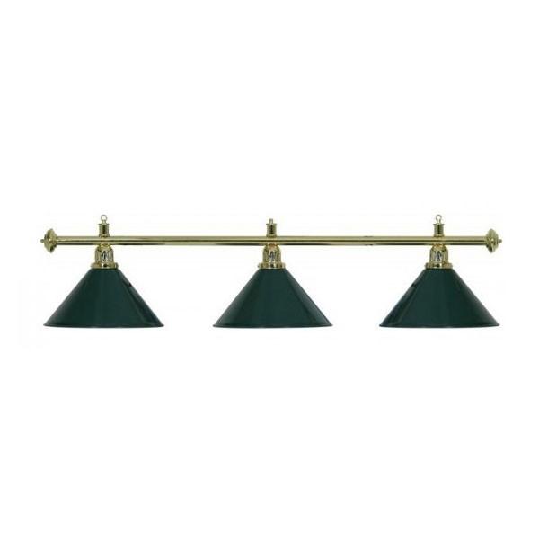 Lampadario 3 campane verde