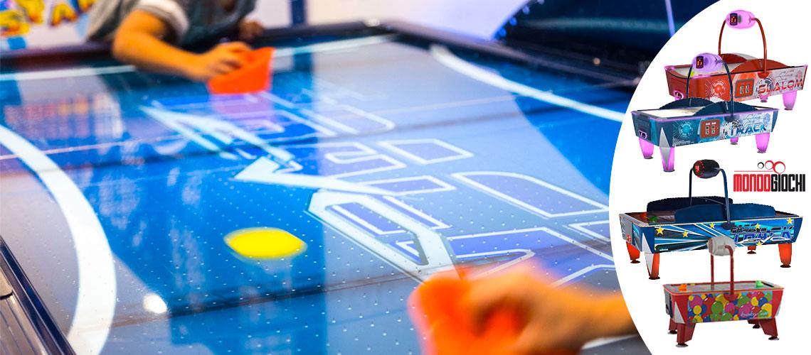 air hockey da tavolo